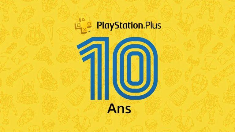 PlayStation Plus – Sony fête les 10 ans du service et offre 3 jeux pour le mois de juillet