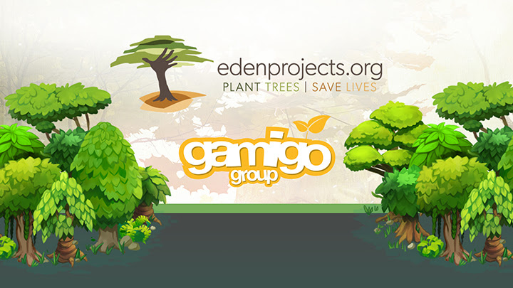 gamigo – Le groupe célèbre la plantation de plus de 111 000 arbres grâce à sa communauté !