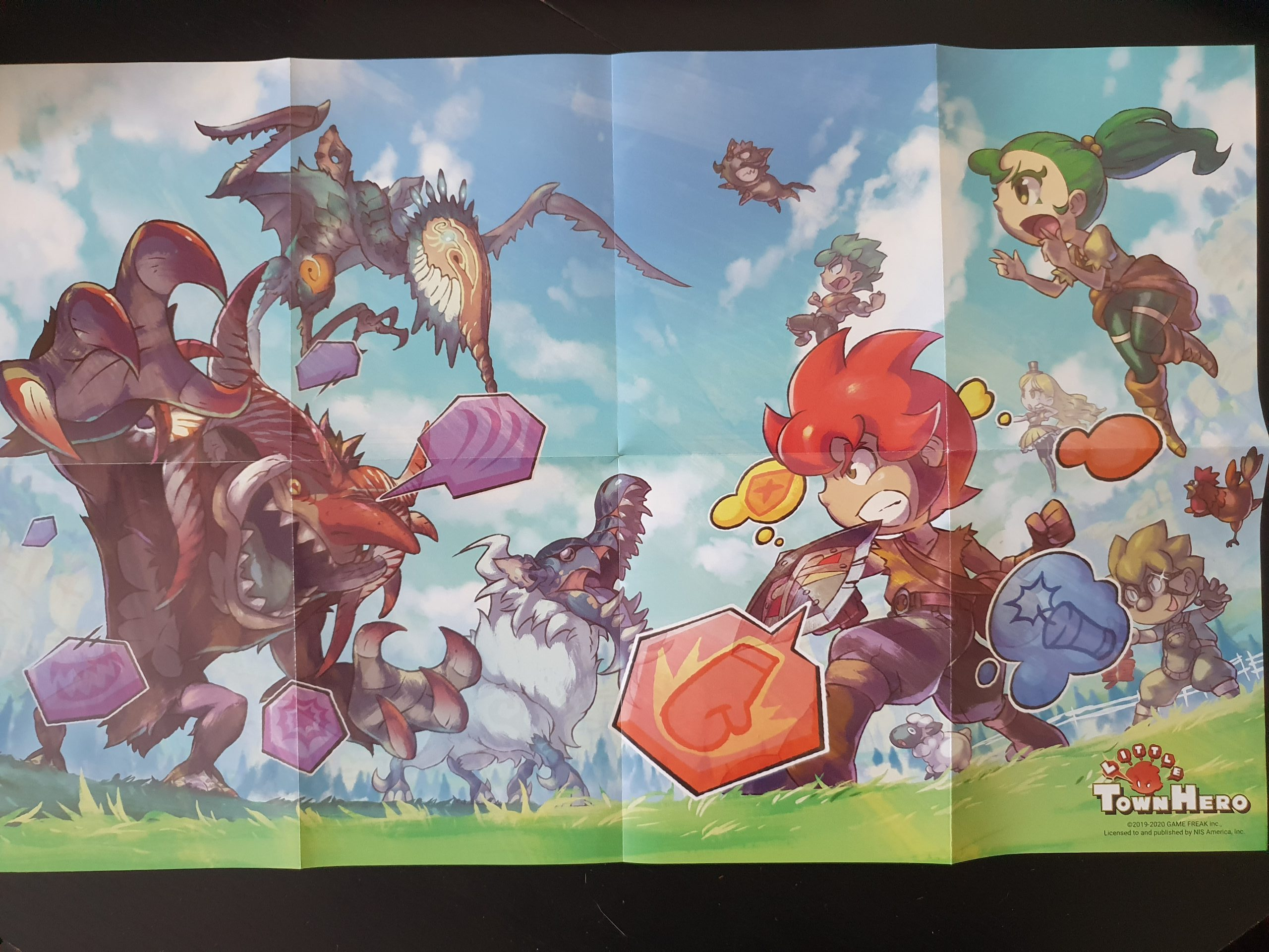 Little Town Hero - Big Idea Edition - Poster