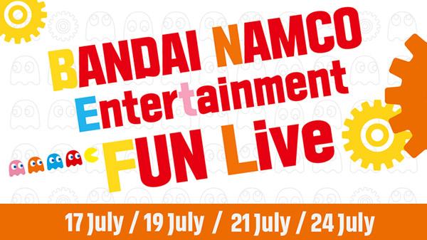 Bandai Namco Entertainment Fun Live – Un live stream de plusieurs jours