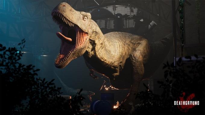 Deathground – Un survival horror avec des dinosaures se dévoile en vidéo