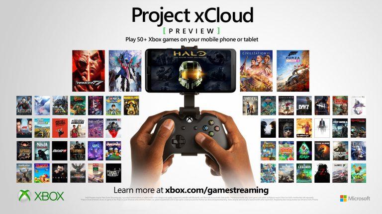 Projet xCloud – Inclus gratuitement dans le Xbox Game Pass Ultimate