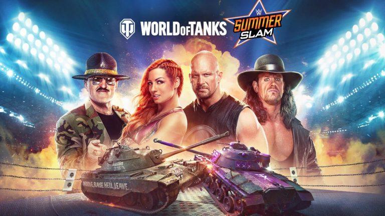 World of Tanks – La version console lance SummerSlam !