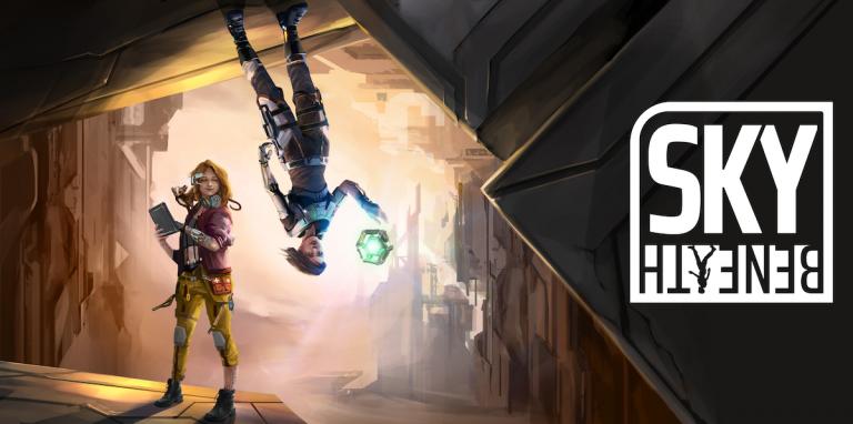 Sky Beneath – Le jeu qui défie la gravité sortira sur PC et consoles en 2021