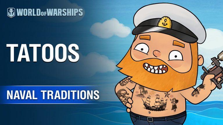 World of Warships – À la recherche du meilleur tatouage naval !