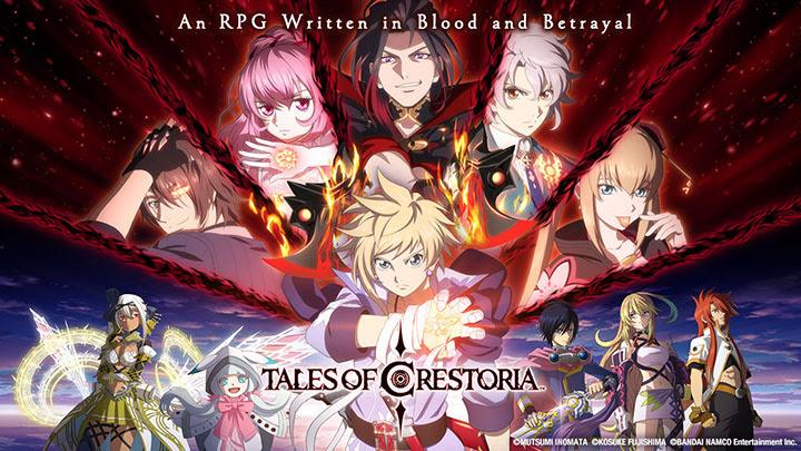 Tales of Crestoria – Disponible sur Smartphone