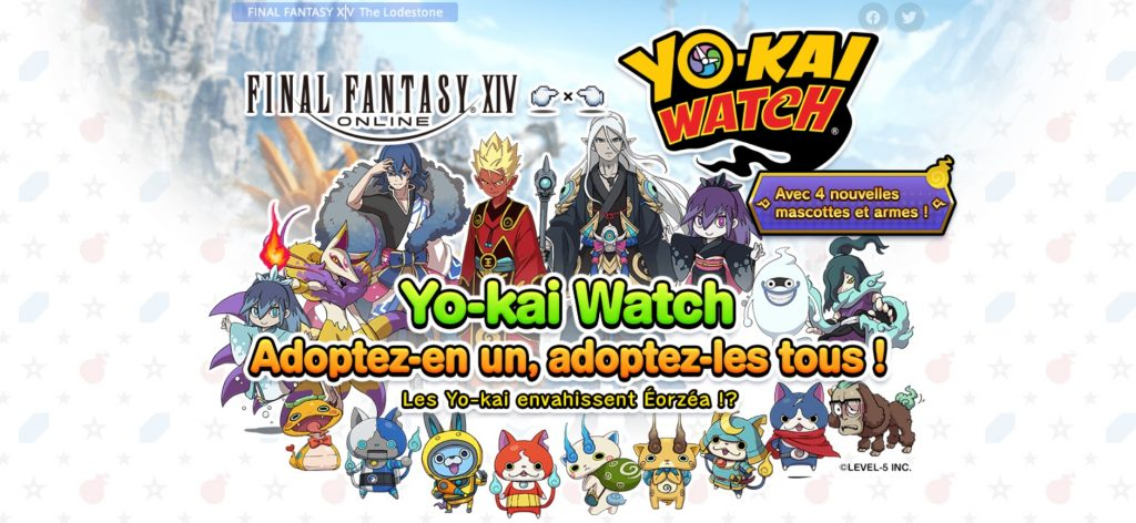 Final Fantasy XIV Online _événement collaboratif Yo-kai Watch