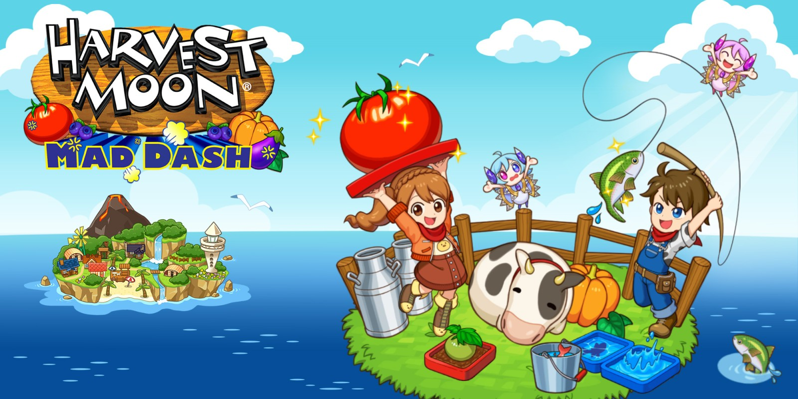 Harvest Moon: Mad Dash - Header