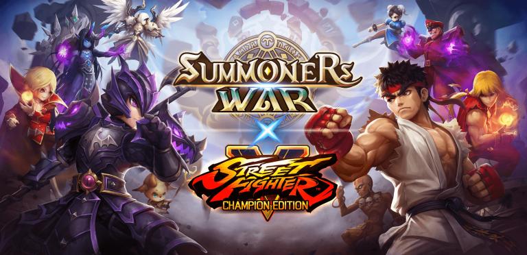 Summoners War X Street Fighter V – Capcom s'invite dans le jeu mobile à succés de Com2uS