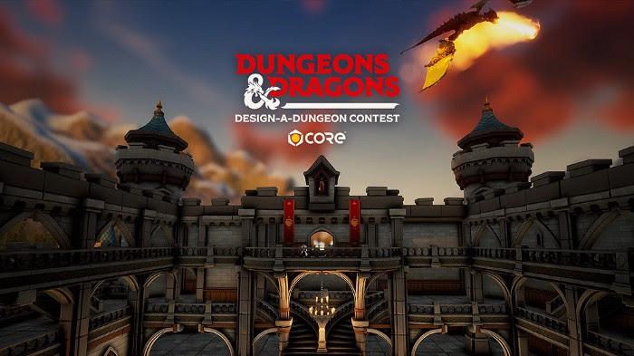 Core – 20 000$ de prix dans un concours de construction de donjons avec Manticore Games x Donjons & Dragons