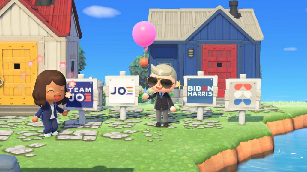Animal Crossing New Horizon Joe Biden