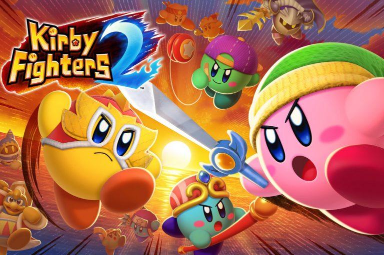 Kirby Fighters 2 – Le jeu est disponible sur le Nintendo Eshop