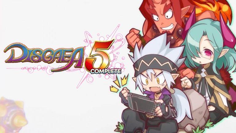 Disgaea 5 Complete – L'aventure est complètement gratuite sur Nintendo Switch !