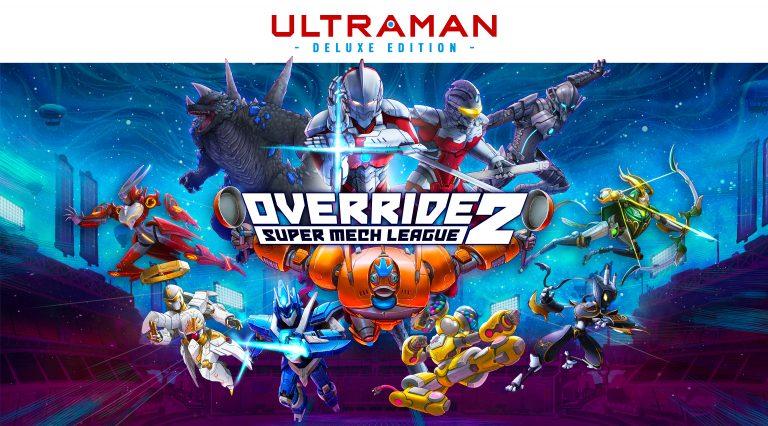 Override 2 : Super Mech League – ULTRAMAN fait son entrée en scène !