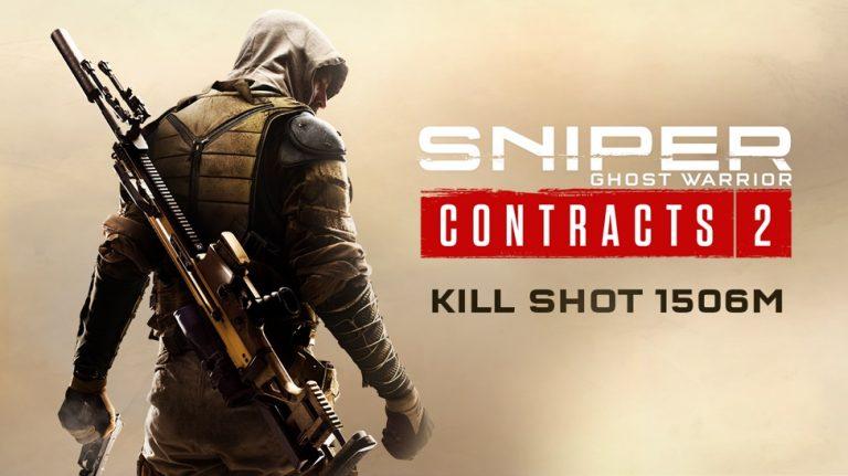 Sniper Ghost Warrior Contracts 2 – S'offre un headshot en vidéo à 1506 mètres