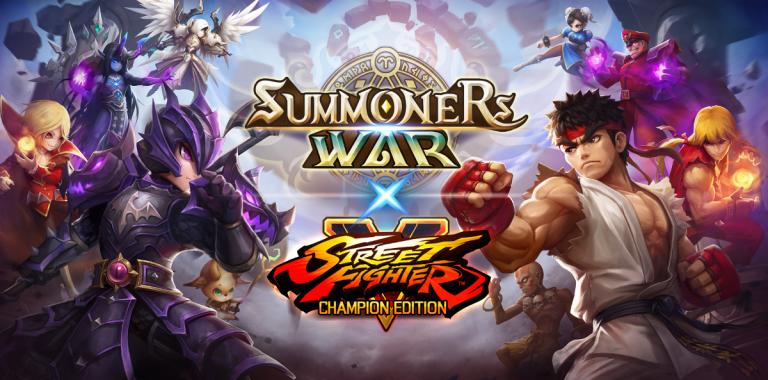 Summoners War X Street Fighter V – Un crossover spectaculaire