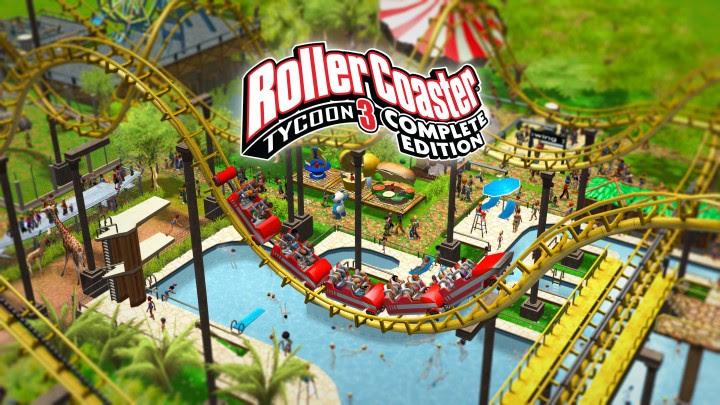 RollerCoaster Tycoon 3 – La Complete Edition est enfin disponible sur PC et Nintendo Switch