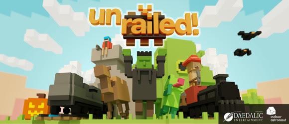 Unrailed! – Le jeu entre en gare sur PC et consoles dès aujourd'hui !