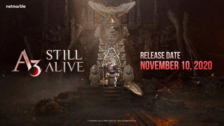 A3 Still Alive – Une date pour le RPG Mobile