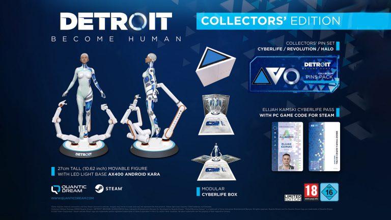 Detroit : Become Human – Une édition collector sur PC