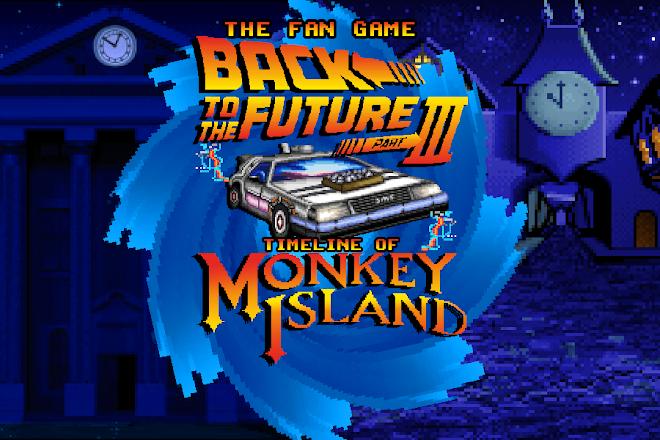 back to the future X monkey island