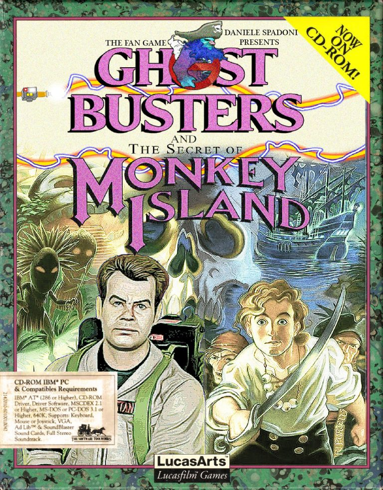 Ghostbusters and the Secret of Monkey Island – Un fan game qui a de la gueule