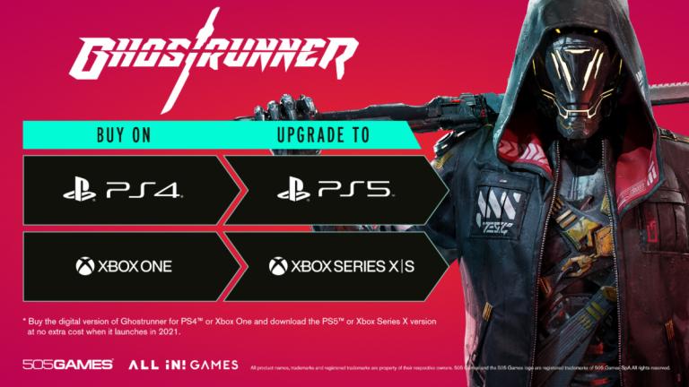 Ghostrunner – Proposera une mise à niveau gratuite vers la PlayStation 5 et la Xbox Series X/S