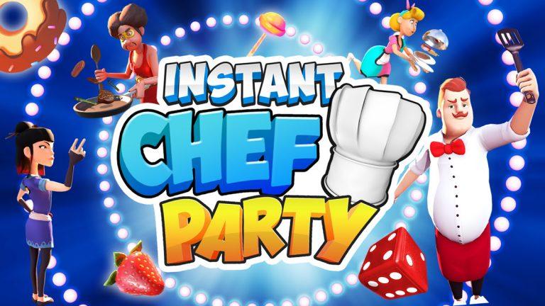 INSTANT Chef Party – Le Party-Game culinaire débarque sur Nintendo Switch