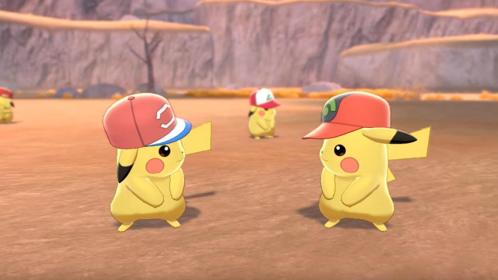 Pokémon épée et bouclier Pikachu
