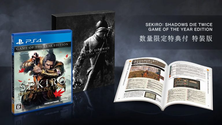Sekiro : Shadows Die Twice – L'édition Game of the Year arrive