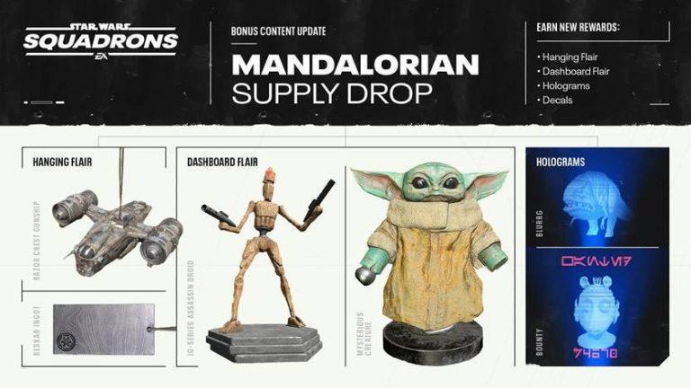 Star Wars: Squadrons – Une mise à jour sur le thème de The Mandalorian