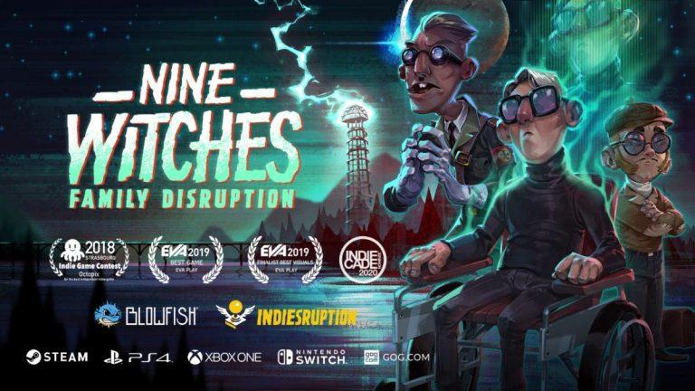 Nine Witches: Family Disruptions – L'aventure occulte débutera le 4 décembre