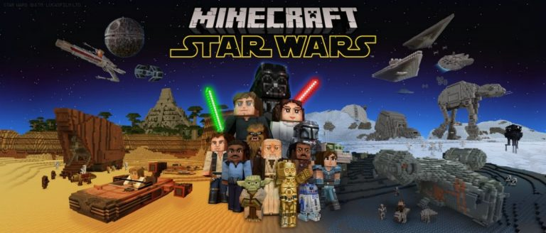 Minecraft – Un important DLC Star Wars !