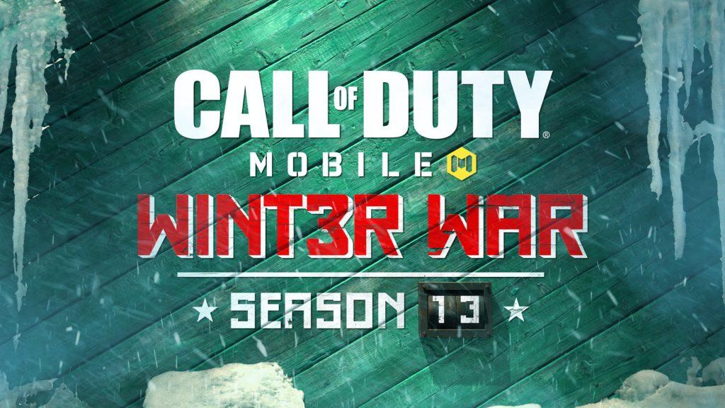 Call Of Duty Mobile Saison 13 Winter War