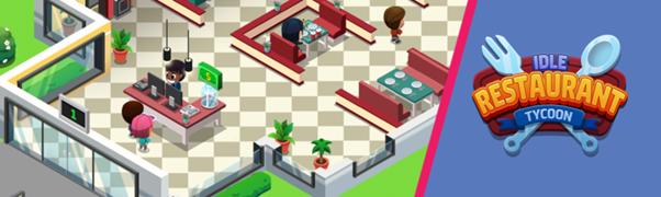 Idle Restaurant Tycoon – Débarque sur iOS et Android!