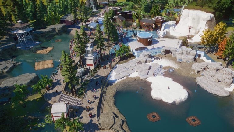Planet Zoo – Le pack Aquatique est disponible dès maintenant !