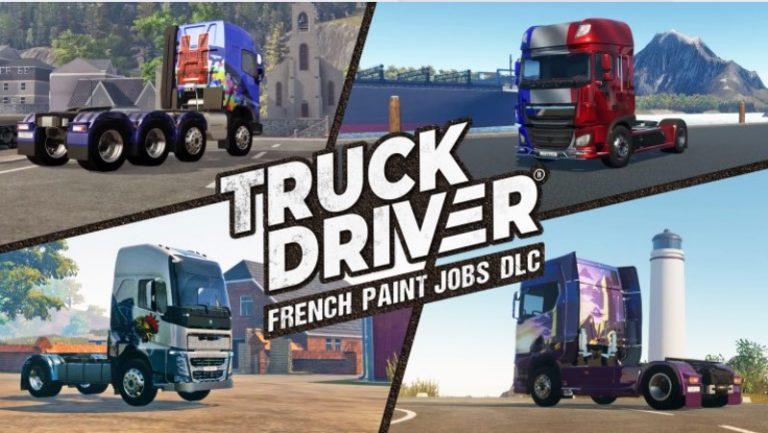 Truck Driver – Sorti du DLC « Peintures françaises » sur PlayStation 4 et Xbox One