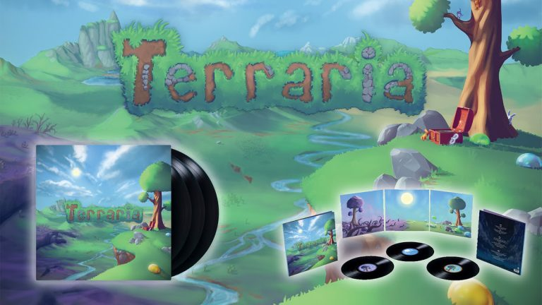 Terraria – Redécouvrez la bande-son en vinyle !