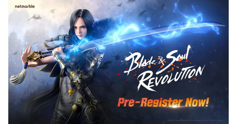 Blade & Soul Revolution – Pré-inscriptions ouvertes pour le prochain jeu mobile de Netmarble