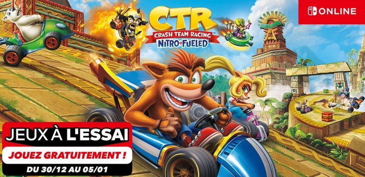 Crash Team Racing – Le concurrent de Mario Kart est à l'essai GRATUITEMENT
