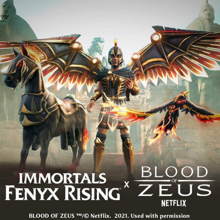 Immortals Fenyx Rising – S'offre un crossover à durée limitée avec la série Netflix « Blood of Zeus »