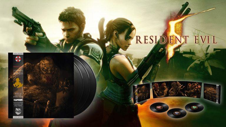 Resident Evil 5 – La bande son disponible en Vinyle