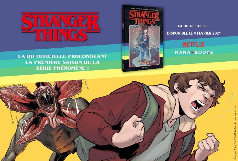 Stranger Things – Le Tome 2 sortira le 4 février chez Mana Books