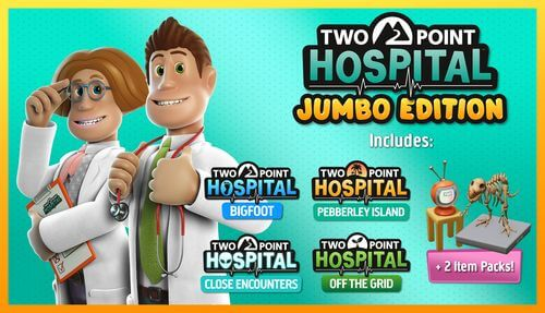 Two Point Hospital : JUMBO Edition – Les consultations reprennent le 5 mars 2021 sur Console !
