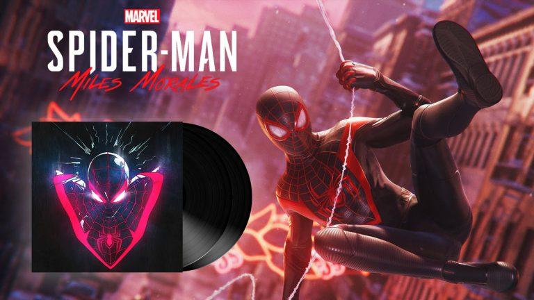 Marvel's Spider-Man: Miles Morales – Un double vinyles consacré à la bande-son originale du jeu disponible en mars
