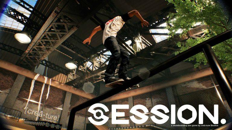 Session – Nacon et crea-ture s'associent pour le nouveau jeu de skate