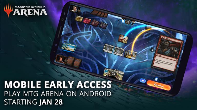 Magic: The Gathering Arena Mobile – L'accès anticipé débute dès aujourd'hui !