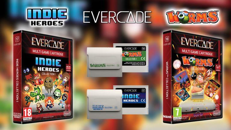 Evercade – Deux nouvelles cartouches arrivent sur la console Retro !