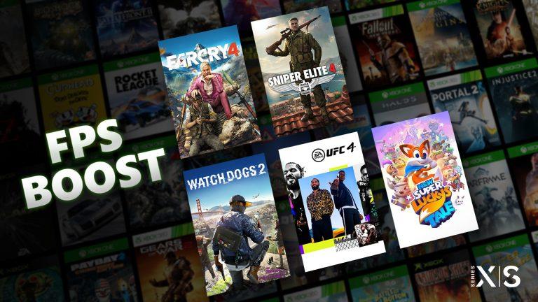 FPS Boost -Microsoft dévoile une technologie améliorant les jeux rétrocompatibles