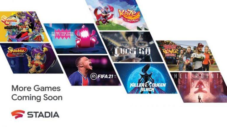 Stadia – Plus de 100 jeux attendus durant l'année 2021